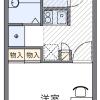 在埼玉市大宮区内租赁1K 公寓 的 楼层布局