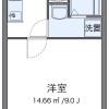 1K Apartment to Rent in Okawa-shi Floorplan