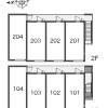 1K Apartment to Rent in Katsushika-ku Layout Drawing