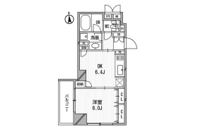 港区芝(4、5丁目)-1DK公寓大厦
