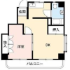 1DK Apartment to Buy in Shinjuku-ku Floorplan