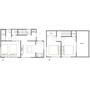 3DK House in Minamiikebukuro - Toshima-ku Floorplan