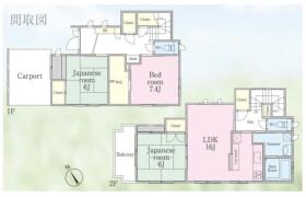 3LDK House in Hirasaku - Yokosuka-shi