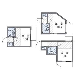 1R Apartment in Osaki - Shinagawa-ku Floorplan