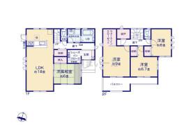 4SLDK {building type} in Fukuro - Konosu-shi