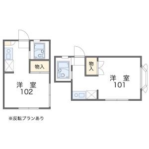 1K Apartment in Shiomidaicho - Kobe-shi Suma-ku Floorplan