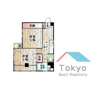 2K Mansion in Egota - Nakano-ku Floorplan