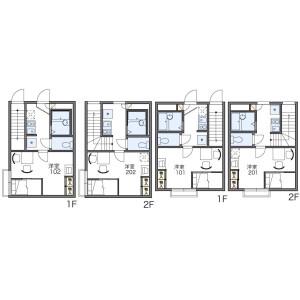 1K Apartment in Botan - Koto-ku Floorplan