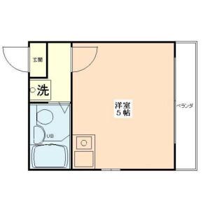 1R Apartment in Higashinippori - Arakawa-ku Floorplan