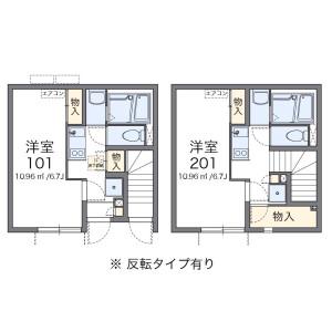 台東區清川-1K公寓 房間格局