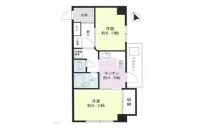 2DK {building type} in Daita - Setagaya-ku