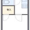 1K 아파트 to Rent in Kawasaki-shi Kawasaki-ku Floorplan