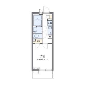 1K Mansion in Hommachihigashi - Saitama-shi Chuo-ku Floorplan