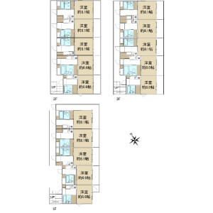 Whole Building {building type} in Kaminomiya - Yokohama-shi Tsurumi-ku Floorplan