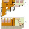 4DK House to Rent in Osaka-shi Higashiyodogawa-ku Floorplan
