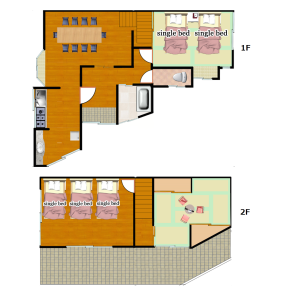 4DK House in Nishiawaji - Osaka-shi Higashiyodogawa-ku Floorplan