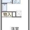 1K Apartment to Rent in Sakai-shi Sakai-ku Floorplan