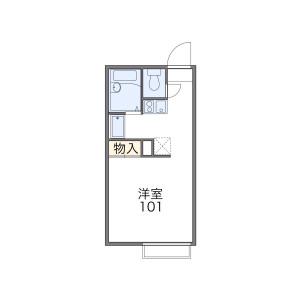 1K Apartment in Sambocho - Sakai-shi Sakai-ku Floorplan
