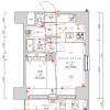 在台东区购买1LDK 公寓大厦的 楼层布局