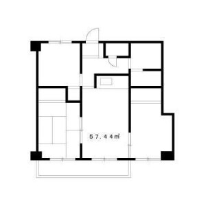 3DK Mansion in Miyamachi - Fuchu-shi Floorplan