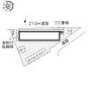 1K Apartment to Rent in Fuchu-shi Layout Drawing
