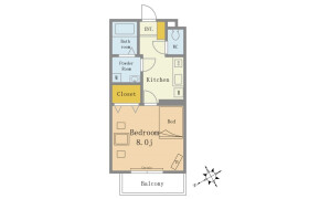 1R Mansion in Katsushikacho - Funabashi-shi
