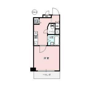 1K {building type} in Okubo - Shinjuku-ku Floorplan