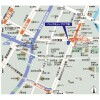 1LDK Apartment to Rent in Chuo-ku Map