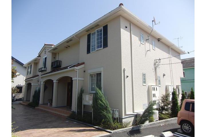 在小田原市内租赁2LDK 公寓 的 户外