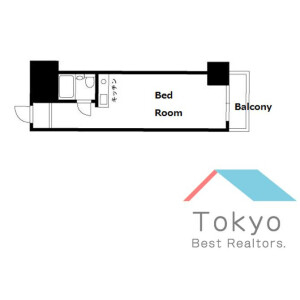 豐島區東池袋-1R公寓大廈 房間格局