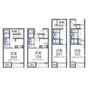 1K Apartment in Daiko - Nagoya-shi Higashi-ku Floorplan
