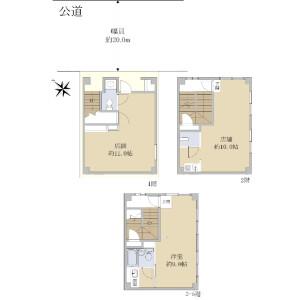 Whole Building {building type} in Kitaotsuka - Toshima-ku Floorplan