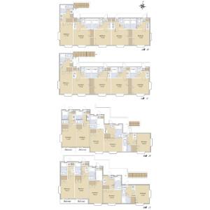 Whole Building {building type} in Aobamachi - Sendai-shi Aoba-ku Floorplan