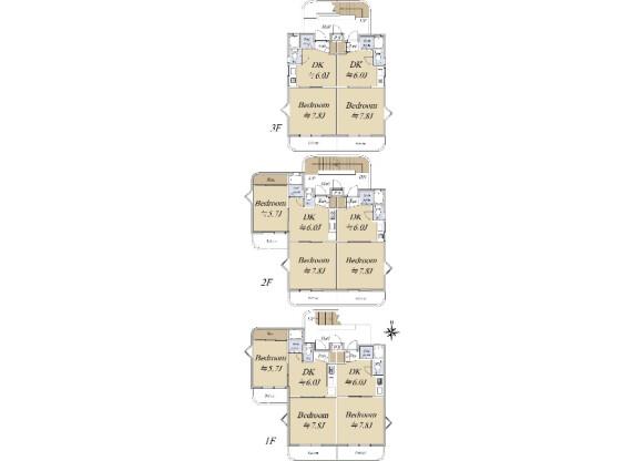 Whole Building Apartment to Buy in Nagoya-shi Meito-ku Floorplan