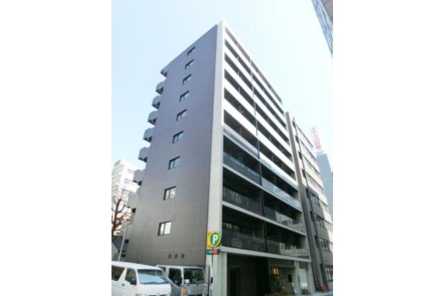 在中央區內租賃1DK 公寓大廈 的房產 戶外