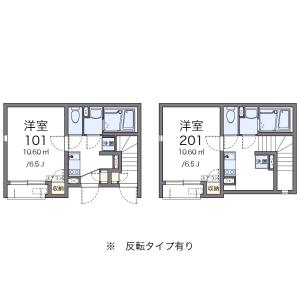 1K Apartment in Katamachi - Shinjuku-ku Floorplan