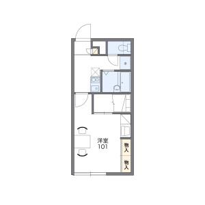 1K Apartment in Minami5-jonishi - Sapporo-shi Chuo-ku Floorplan