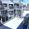 1K 맨션 to Rent in Shinjuku-ku Balcony / Veranda