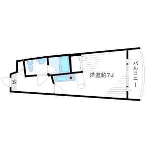 1R Mansion in Kitazawa - Setagaya-ku Floorplan