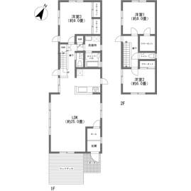 3LDK {building type} in Oiwake - Kitasaku-gun Karuizawa-machi Floorplan