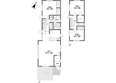 3LDK House to Buy in Kitasaku-gun Karuizawa-machi Floorplan