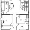 Shared Guesthouse to Rent in Shinjuku-ku Floorplan
