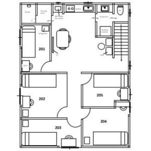 [Share House] KIMI : Soleil Waseda (Female Only) - Guest House in Shinjuku-ku Floorplan