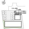 1K Apartment to Rent in Kawachinagano-shi Layout Drawing