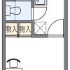 1K マンション 堺市堺区 間取り