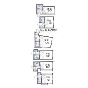 1K Apartment in Minamidai - Nakano-ku Floorplan