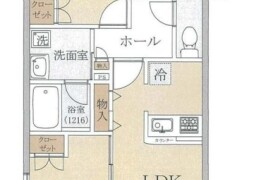 2LDK {building type} in Umeda - Adachi-ku