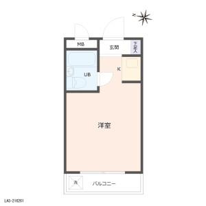 1R {building type} in Higashijujo - Kita-ku Floorplan