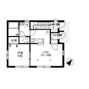 1LDK Apartment in Takamatsu - Toshima-ku Floorplan