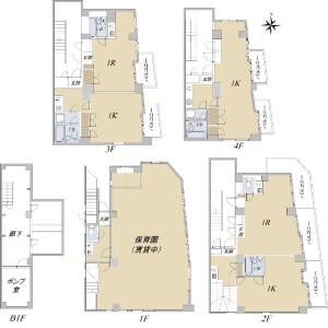 Whole Building {building type} in Fujimidai - Nerima-ku Floorplan